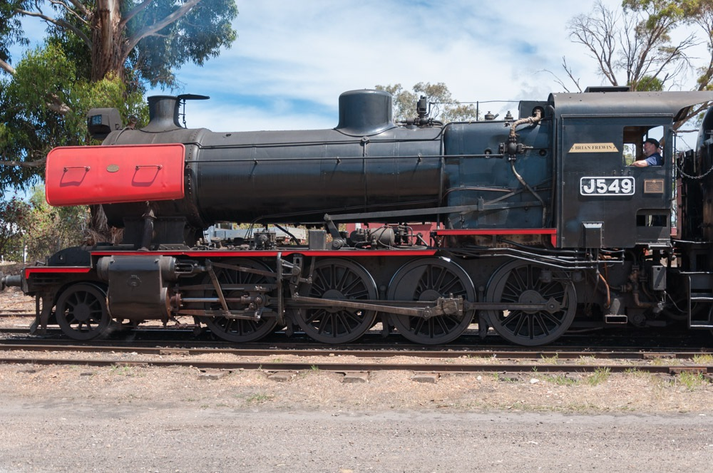 J Class steam locomotive J549