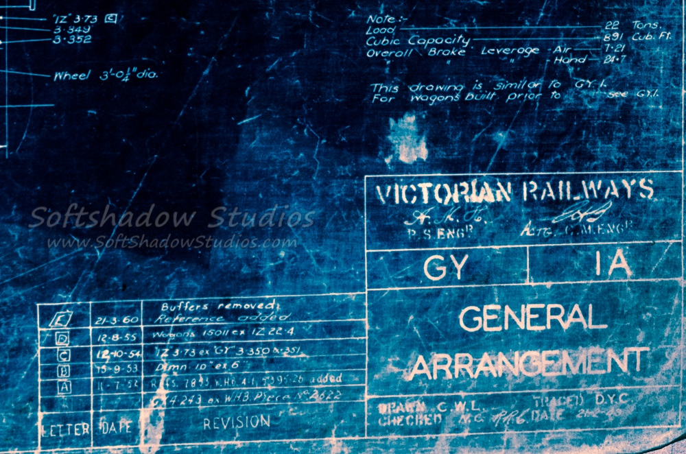 GY blueprint detail photo processed