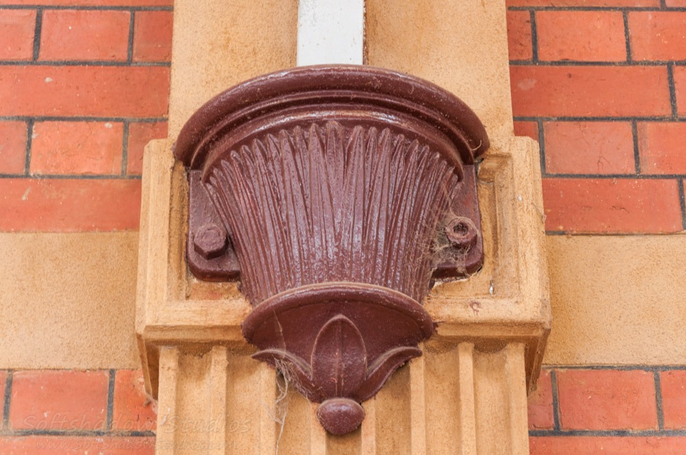 Maryborough Station - Decorative cast iron